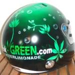 Racehelm für GREEN