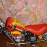 Minibike im Indianerdesign