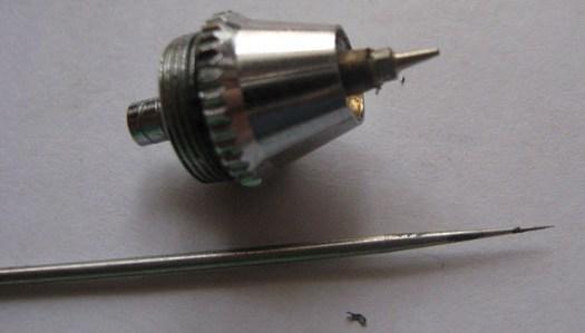 13 - DIY: Fixing Airbrush Nozzle Seal
