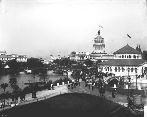 Chicago Worlds Columbian Exposition 18931 500x399 - 1893: The Columbian Exposition in Chicago