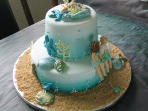 Sea theme Wedding Cake from Jane