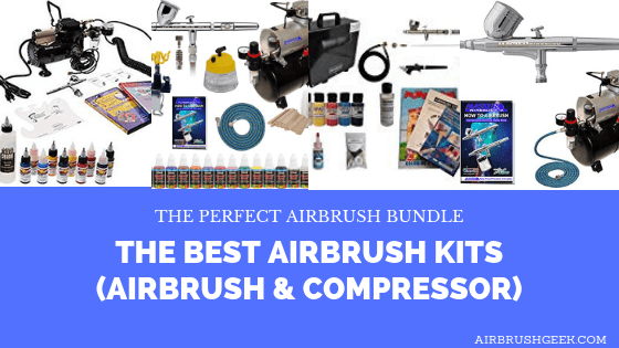 Best Airbrush Kits (Airbrush and Compressor): Reviews & Comparisons
