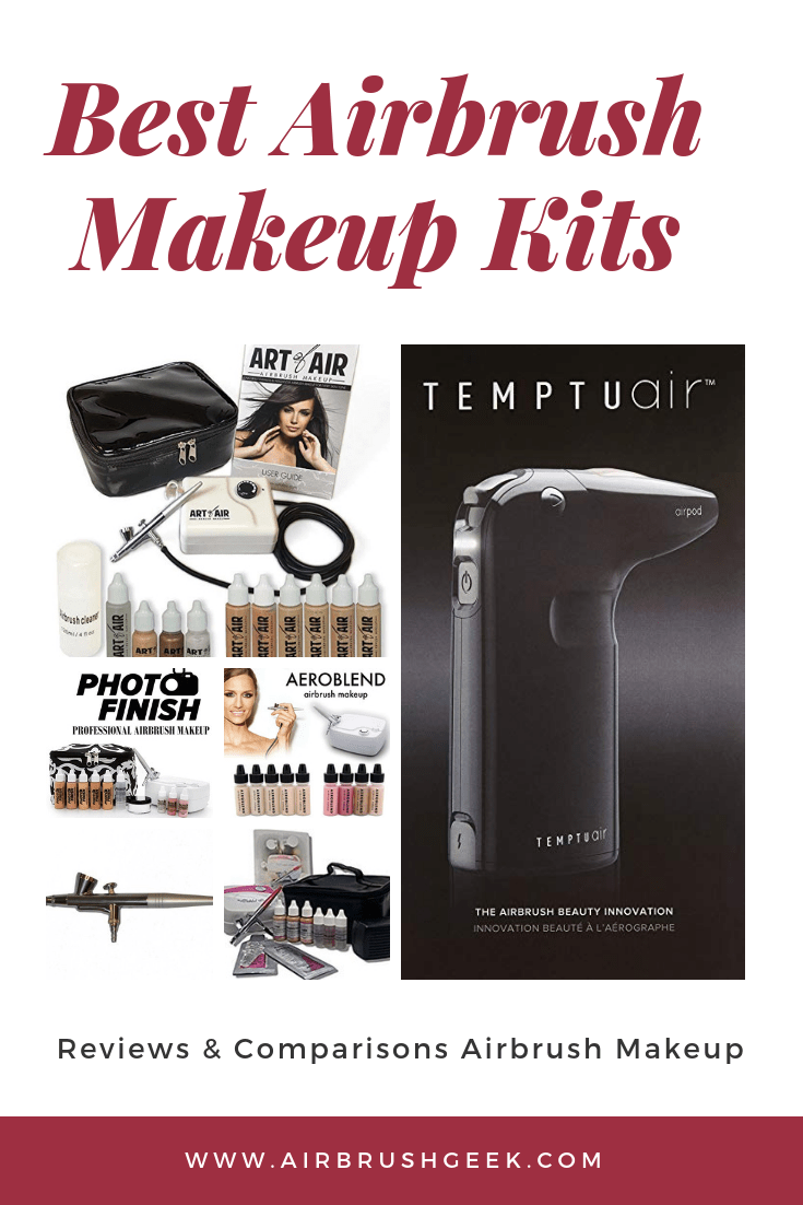 Best Airbrush Makeup System 2019 Reviews Comparisons Airbrushgeek