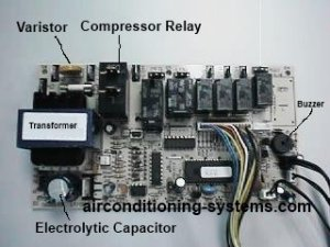 Split Airconditioner Control Troubleshooting Guide