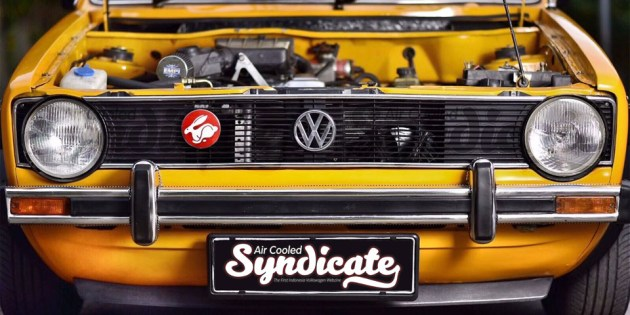 Jek Rabbit The Juicy Orange Golf Mk1