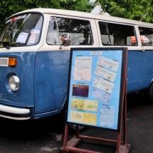 minggu volkswagen 4 - air cooled syndicate - original paint vw bus