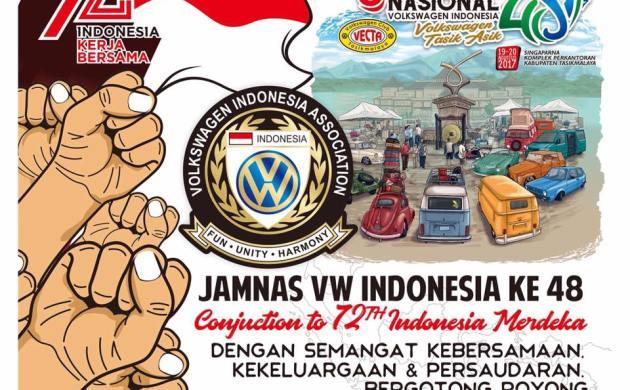 Perhelatan Jambore Nasional Volkswagen Indonesia ke 48 di Tasikmalaya