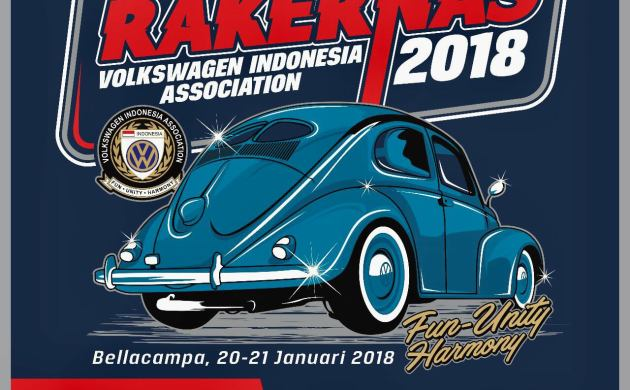 Rakernas Volkswagen Indonesia Association 2018