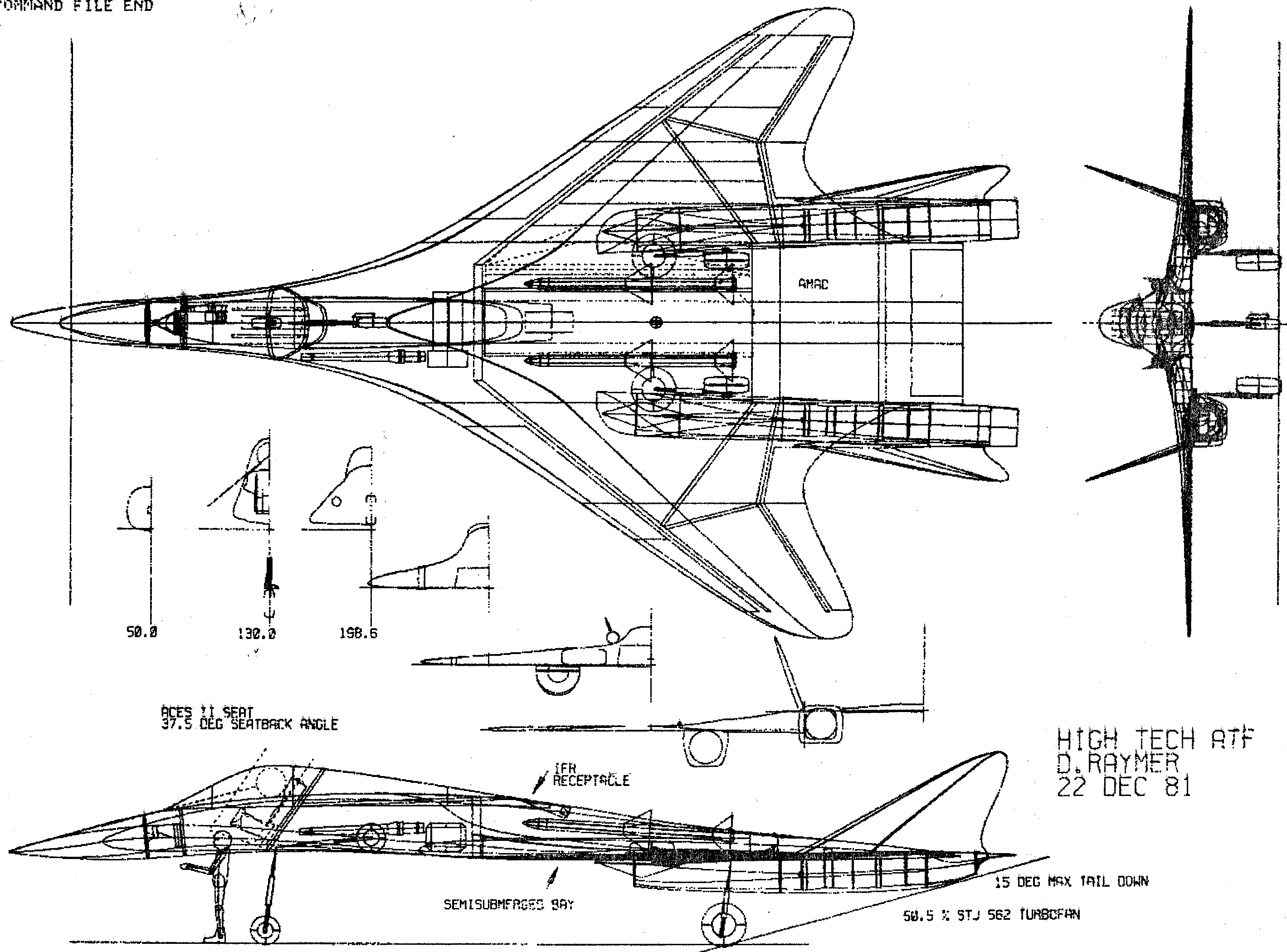 Aircraft Amp Spacecraft Conceptual Design Drawings Amp Pictures