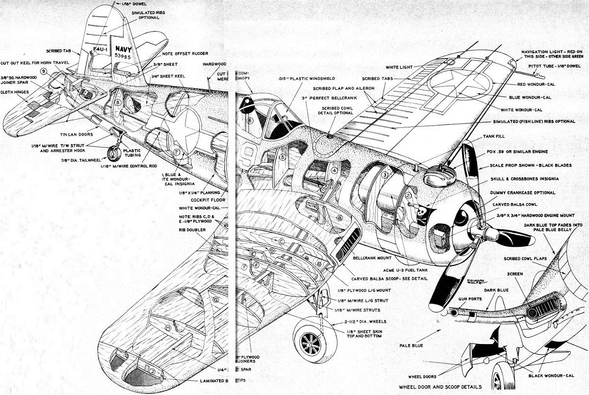 Vought F4u Corsair Warplane Technical Specs History And