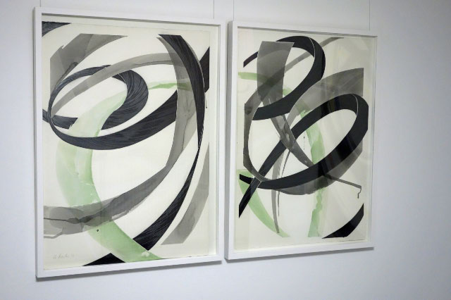 ANDREAS KOCKS - #1303w - 2013 - aquarell/graphit/büttenpapier/geschnitzt - 76x56cm - 2teilig