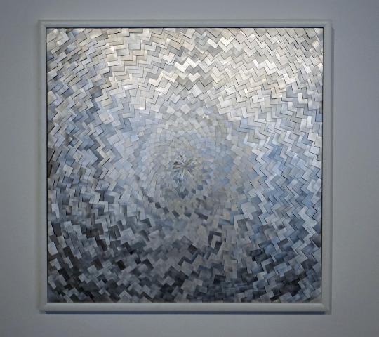 DANINO BOZIC - ROULETTE I. - metal - 70x70cm - 2012