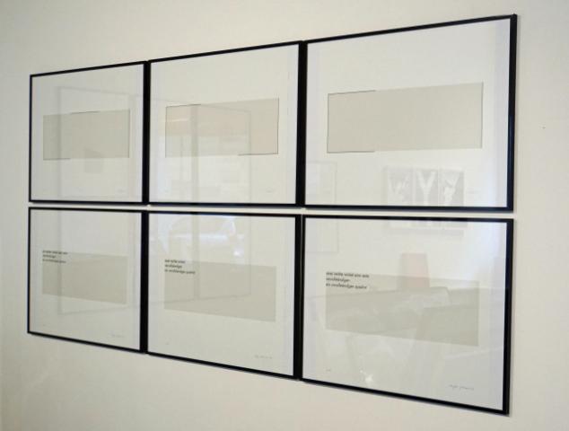 Gerhard Frömel, Eugen Gomringer - QUADRAT - galerie wuensch aircube 2015