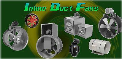 tube axial duct fan