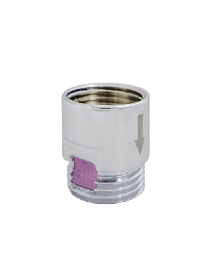 Airdouche element