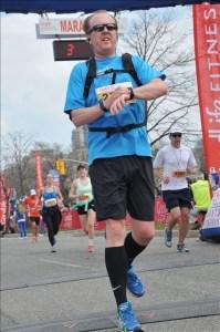 My first Half Marathon done in just over 2:01.
