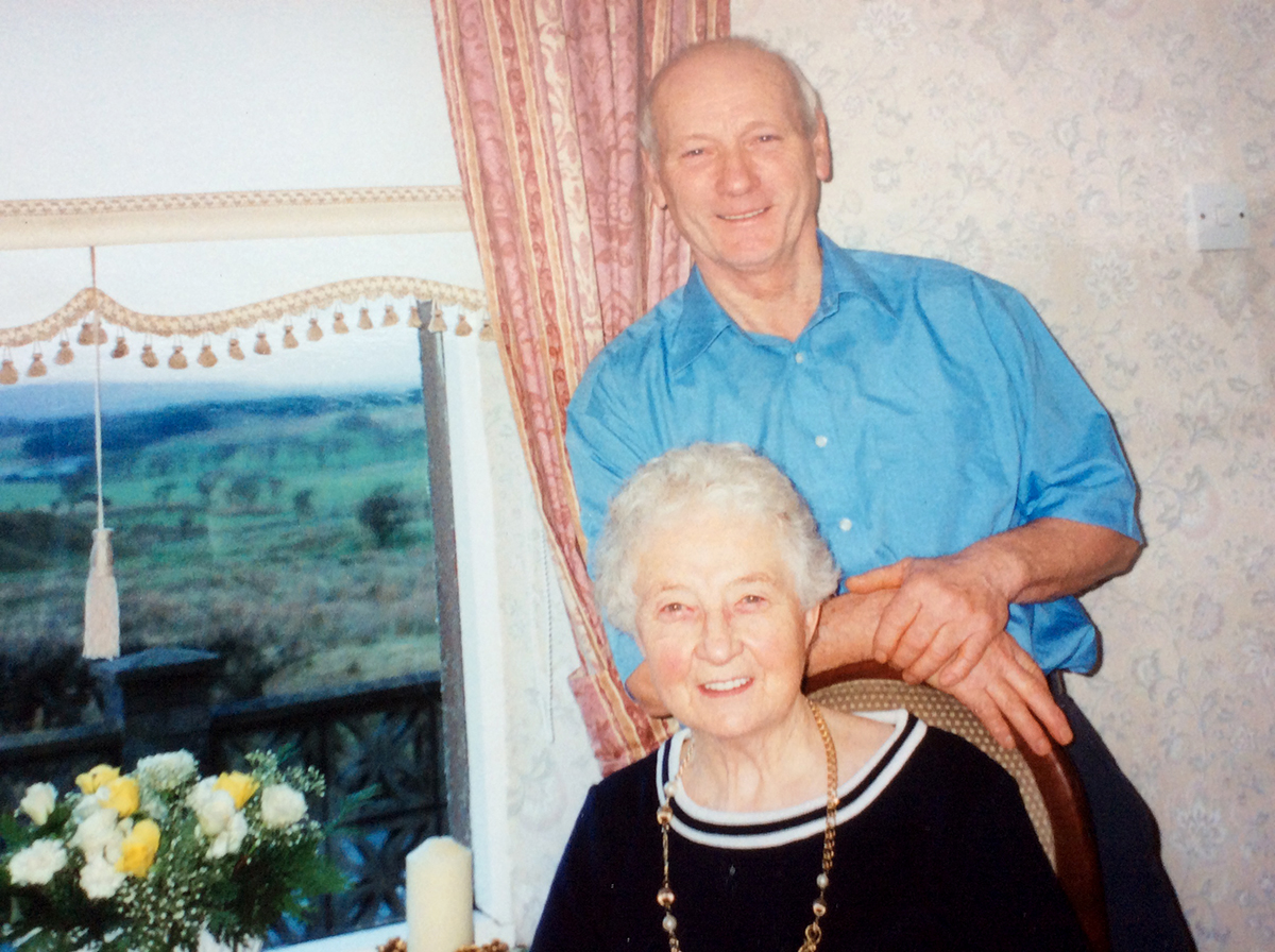 John and Ann Cleland