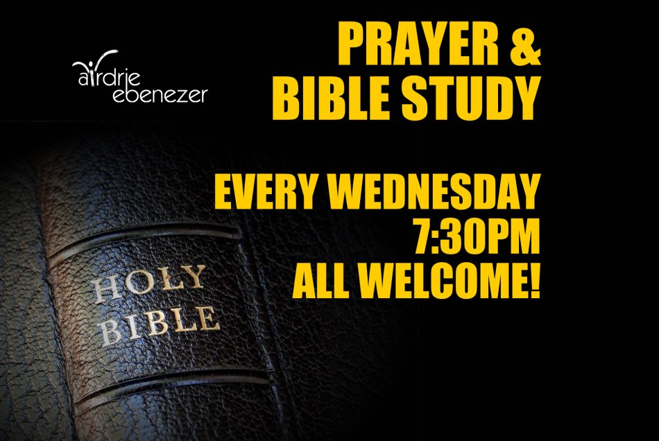 Bible Study at Airdrie Ebenezer
