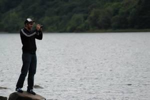 Tim at Loch Lubnaig