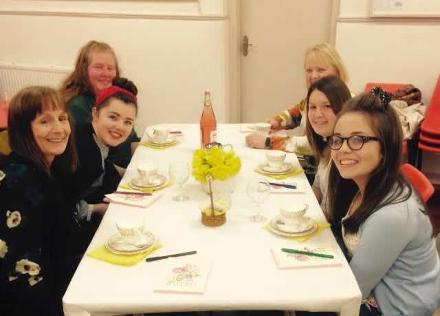 Daffodil Tea Table of people 2