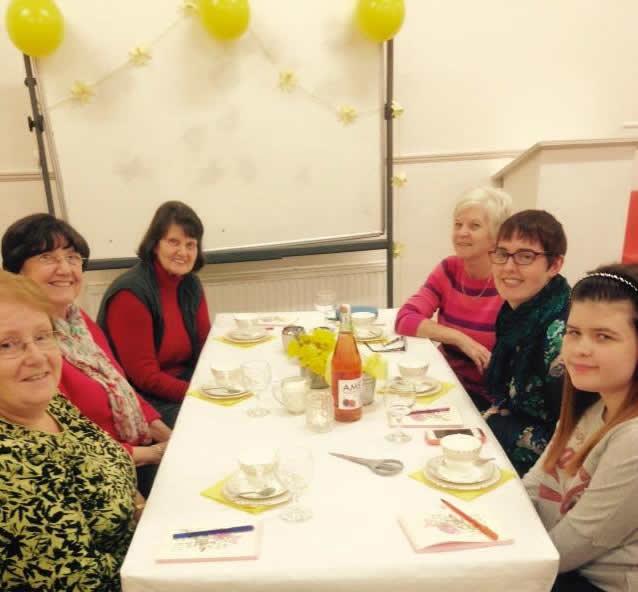 Daffodil Tea Table of people3