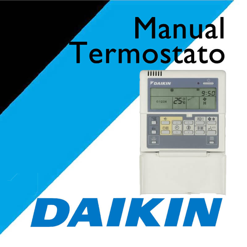 Daikin manual brc1d52 termostato for Simbolos aire acondicionado daikin