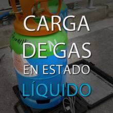 Carga de gas en estado líquido