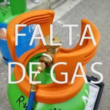 FALTA DE GAS CARGA