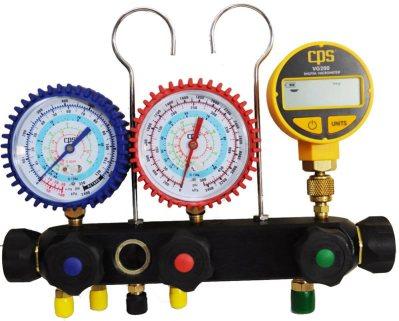 Manómetro con vacuómetro