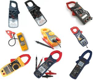 Modelos de amperimetros