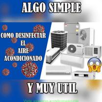 Como desinfectar el aire acondicionado