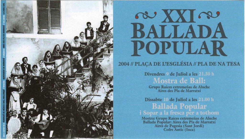 XXI Ballada Popular