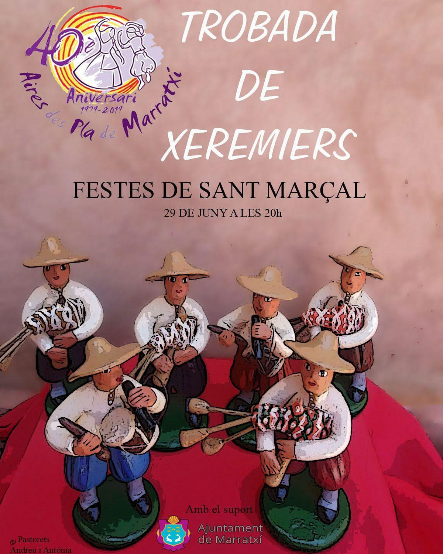 Trobada de xeremiers Festes Sant Marçal 2019
