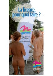 Brochure FFN - La licence