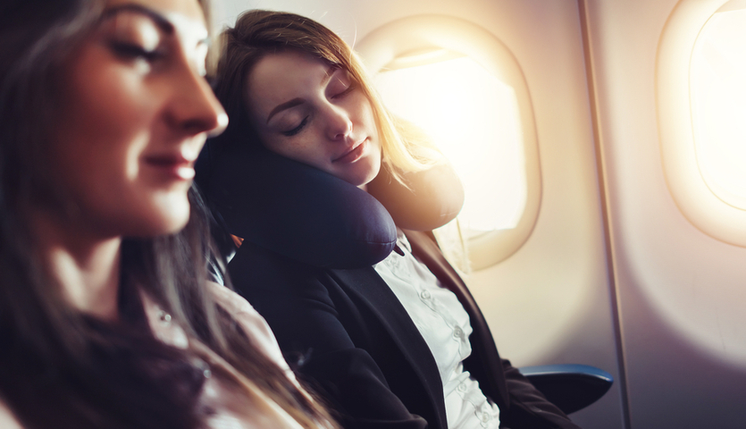 hacks for maximum airplane seat comfort