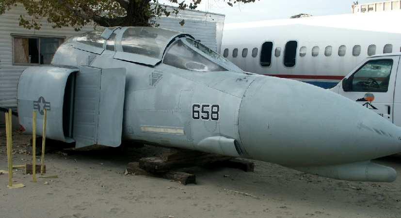 4 Abandoned Phantom F Aircraft