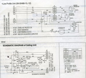 Carrier Low Profile Ac Wiring Diagram  Photo Gallery