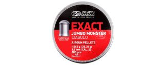 JSB Jumbo Exact Monster .22 Pellets