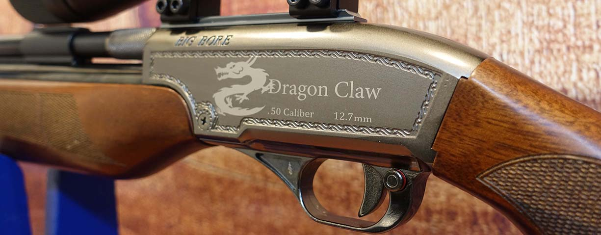 Seneca Dragon Claw with Mantis 4-12x40 AO Mil-dot Scope - Pre-Owned