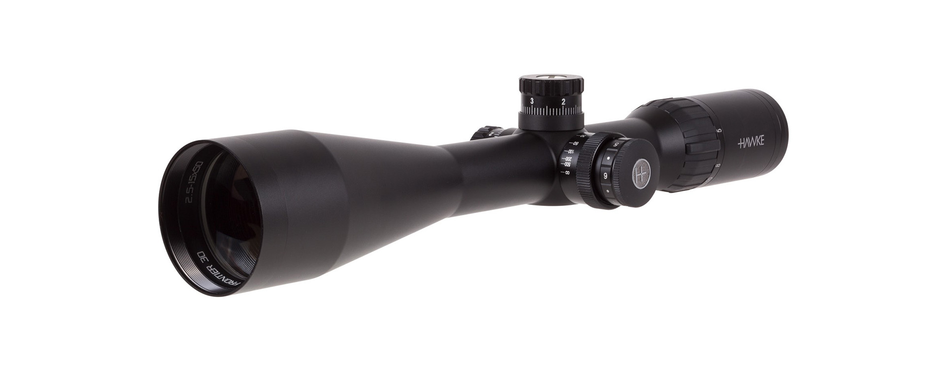 2.5-15x50 Frontier 30 SF Rifle Scope, Ill