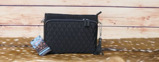 Quilted Shoulder Clutch