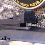 Hatsan Mod 125 Sniper .25 cal - Rear Fiber Optic Sight