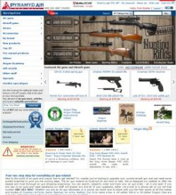 For al your airgun and airgun accessories.. call PyramydAir.com 888-262-4867