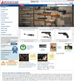 For al your airgun and airgun accessories.. call PyramydAir.com 888-262-4867