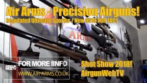 Air Arms at Shot Show 2018