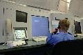 Cadet on the ATC Simulator