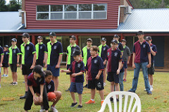Cadets take part in sports events