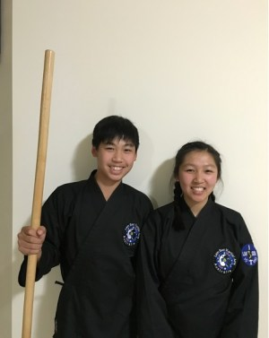 Catherine also enjoys practicing martial arts with her brother