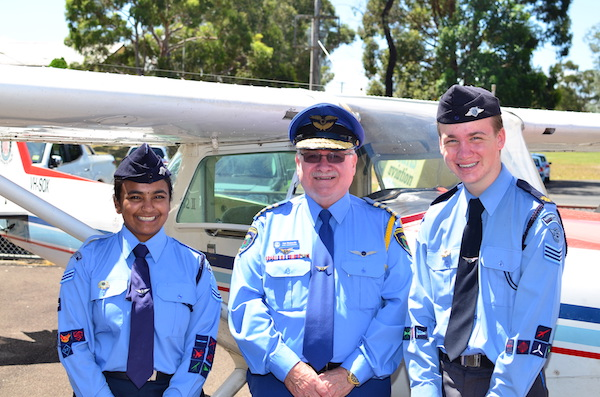 Australian Air League Cadets of the Year 2016/2017