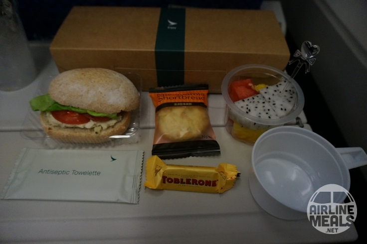 Image result for cathay pacific snackbox